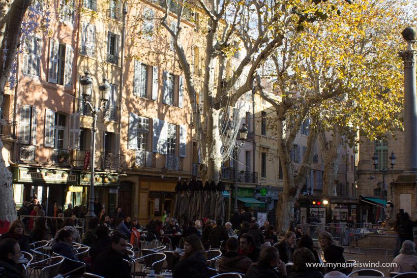 Aix en Provence- tam, gdzie można zakochać się w Prowansji