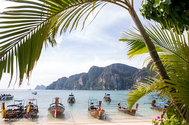 Tajlandia – Wyspa Phi Phi. Wyspa duchów