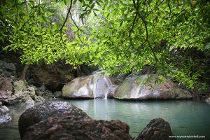 Erawan Park Narodowy i jego wodospady
