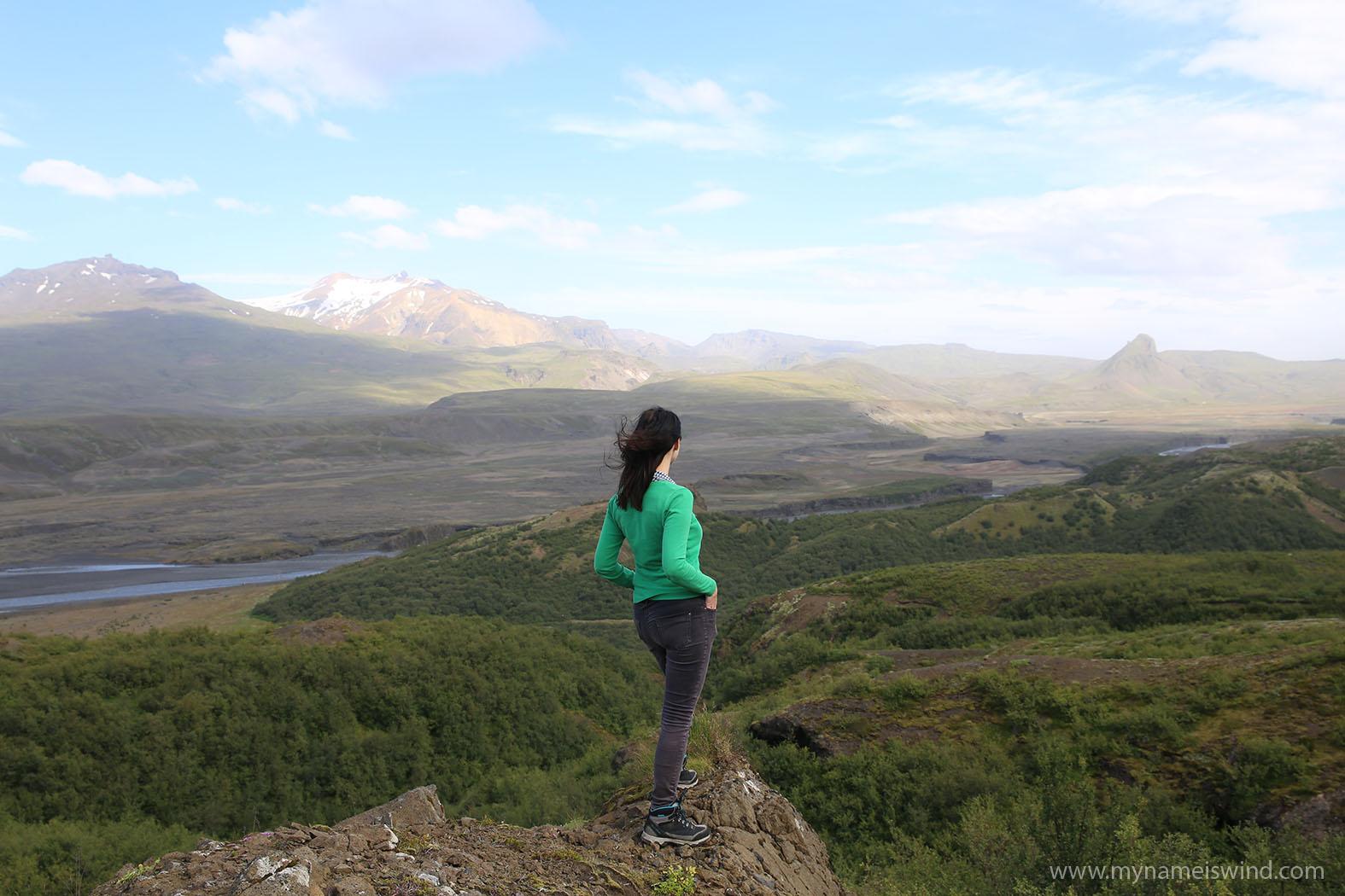 Przedzierając się przez Islandię