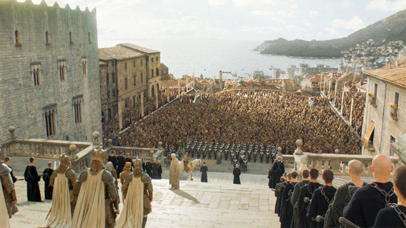 Girona tropem Gry o Tron