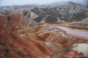 Tęczowe Góry Danxia- relacja z podróży po Chinach. Informacje praktyczne