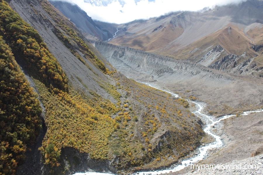Trekking w himalajach annapurna circuit tilicho lake
